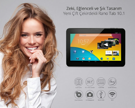 Piranha Rano Tab Tablet Pc İnceleme