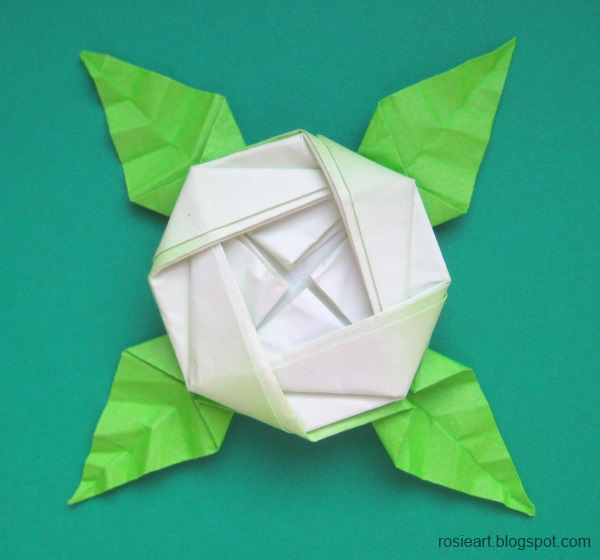 Flat flower origami step by step origami how to make paper tropical flat flower origami step by step the gallery for gt how to make origami flowers view large mightylinksfo