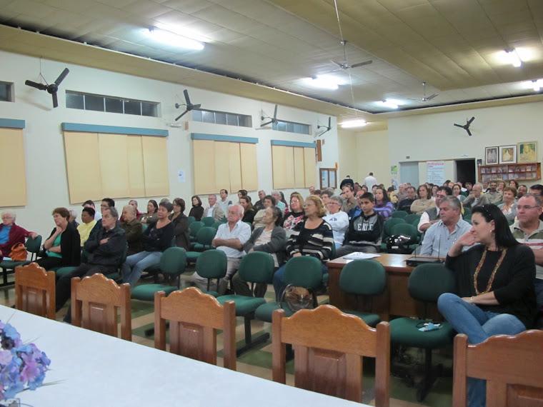 PALESTRAS DO MÊS DE MAIO 2012, NO DISCÍPULOS DE JESUS