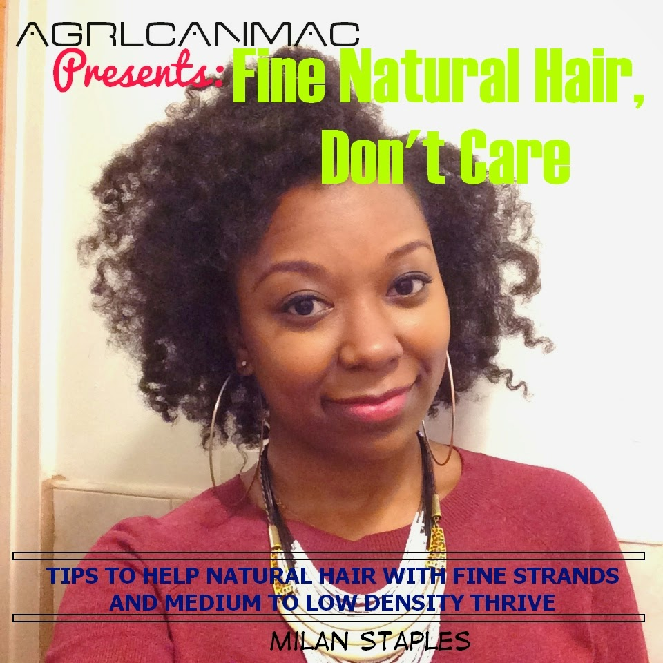 Finally, an e-Book for us with fine natural hair of medium to low density!
