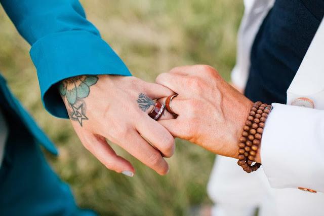 boda eco bosque inglés lesbianas alianzas madera