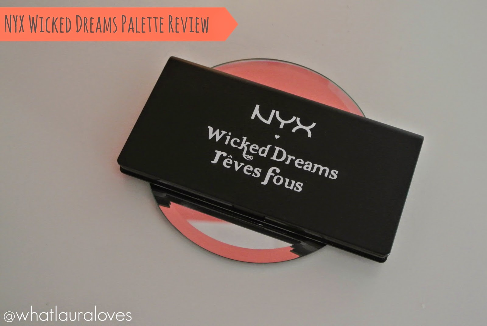 NYX Wicked Dreams Palette Review Eyeshadow