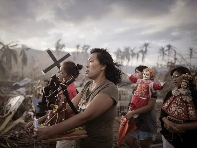 Последствия разрушительного ноябрьского тайфуна на Филиппинах