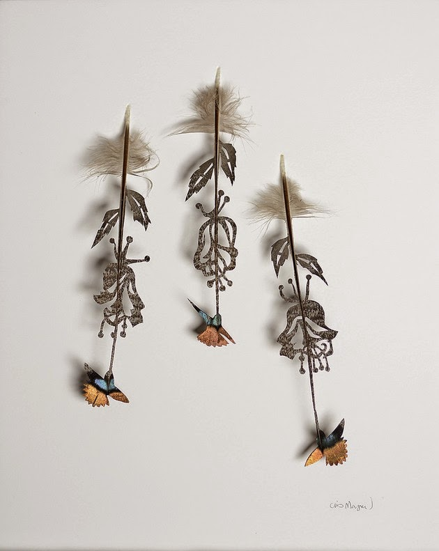 Chris Maynard cut feather art-1