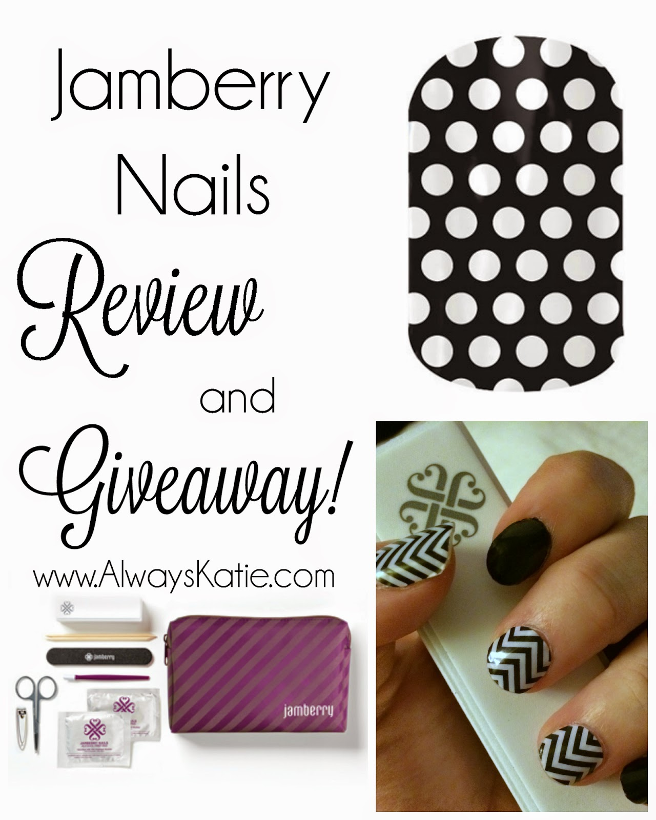 Always, Katie: Jamberry Nails Review and GIVEAWAY
