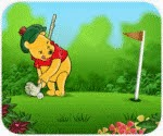 Game Gấu Pooh đánh gôn