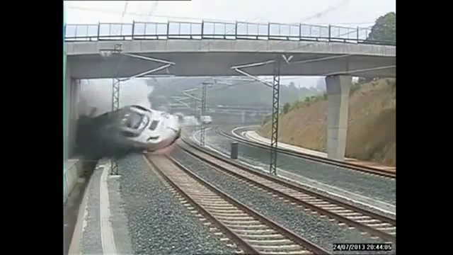 Live CCTV Train Crash Full Uncensored Footage,Spain Train Accident Today Live Video,77 People Dead