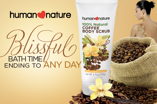 #FABReview | HUMAN NATURE Coffee Body Scrub