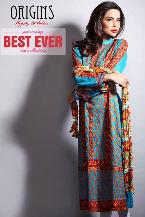 ... Eid Dresses 2014, Best Ever Collection By Origins, Stylish Eid Dresses
