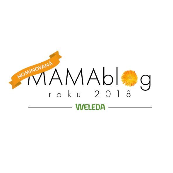 3. místo v kategorii Počin roku MAMABLOG 2018