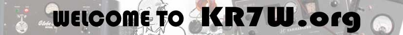 KR7W's Ham Radio Blog