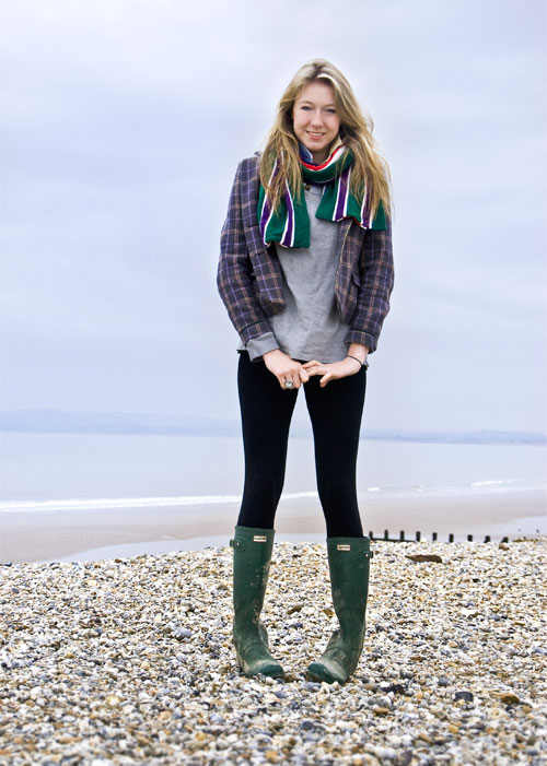 Psynopsis Streetstyle UK Hunter Wellies Joules Jacket