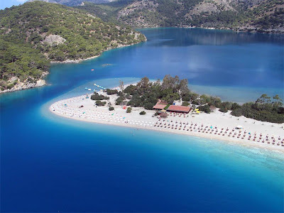 Sovalye Island in Turkey