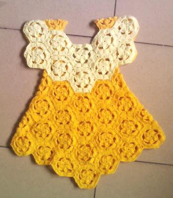 Crochet Dress for Girls