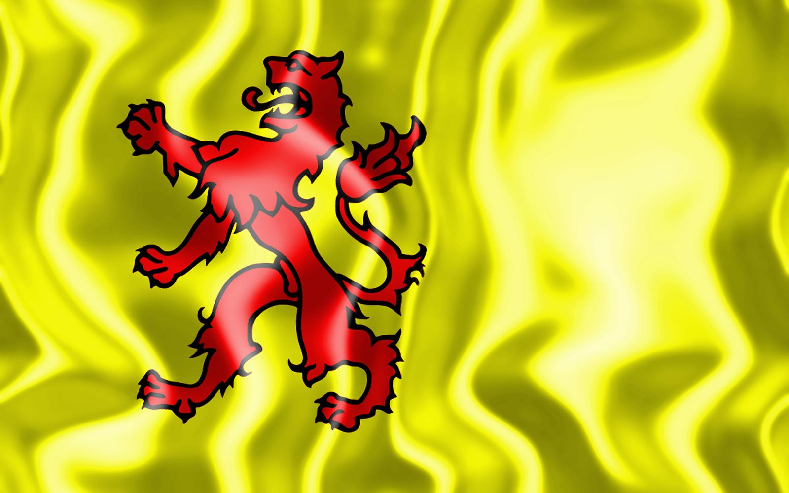 3D vlag van Zuid-Holland