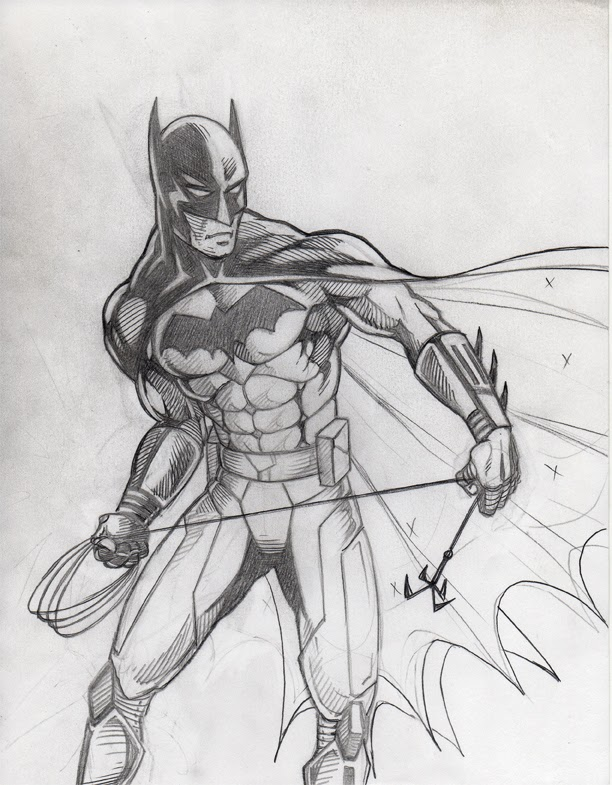 Gallery For gt Dark Batman Drawing