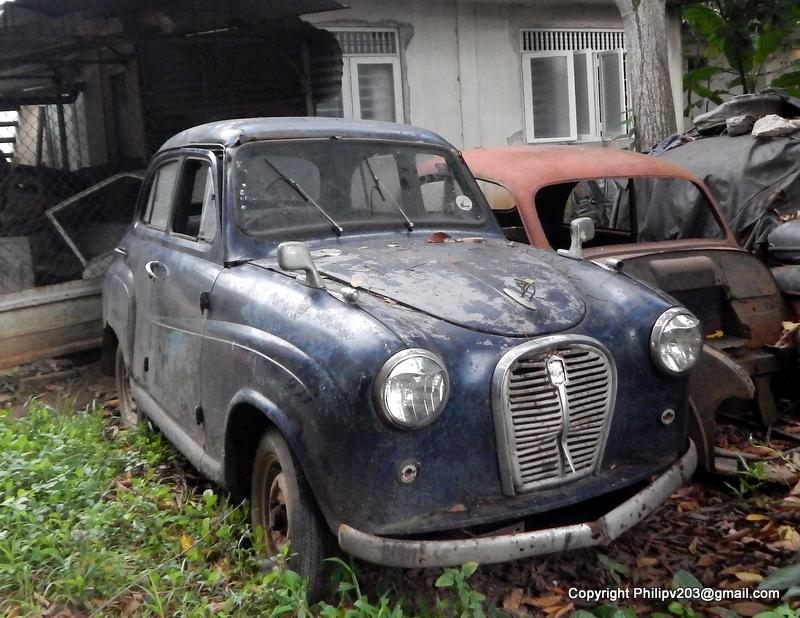 philipveerasingam: A \'junk yard\' of old cars, Sedawaththe, Colombo ...