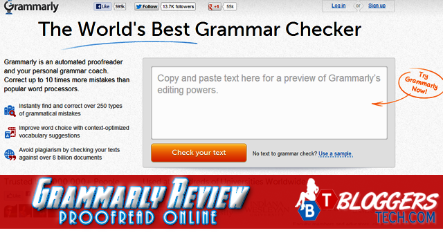 Grammarly Review - Proofread Online!