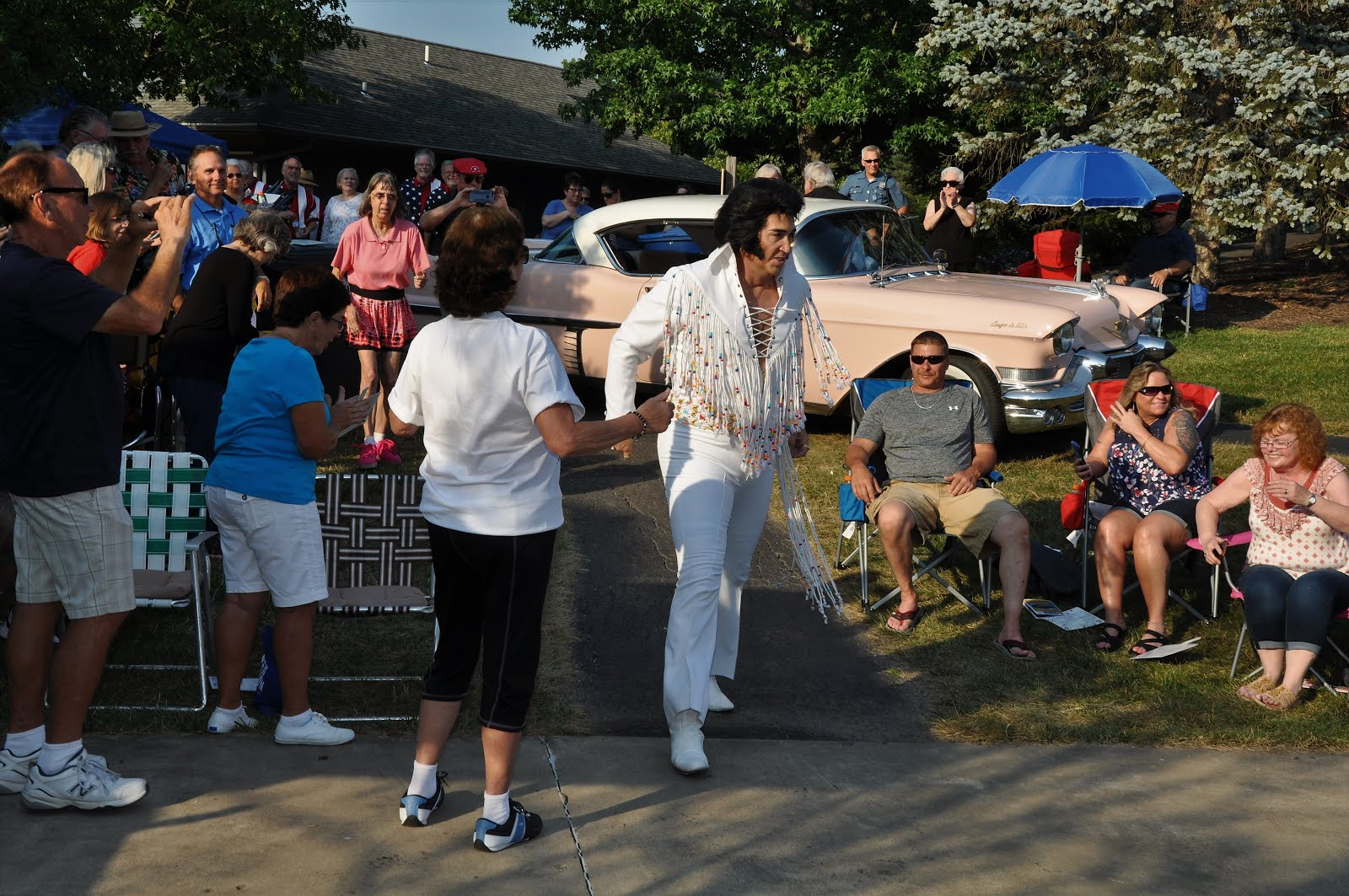 Elvis Has Entered The Park