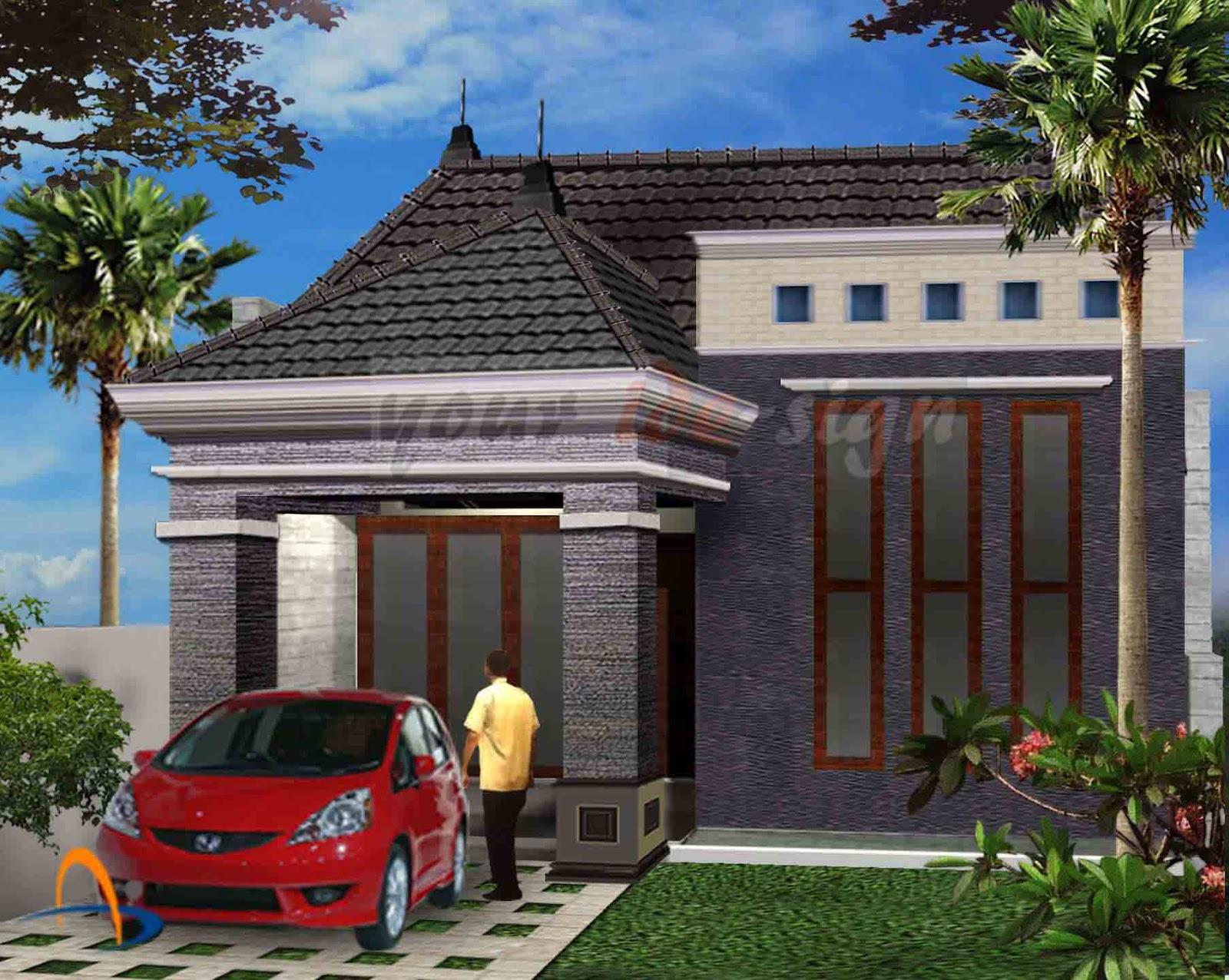 rumah minimalis modern type 45