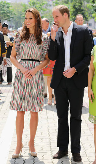 Kate Middleton wearing Singapore label RAOUL