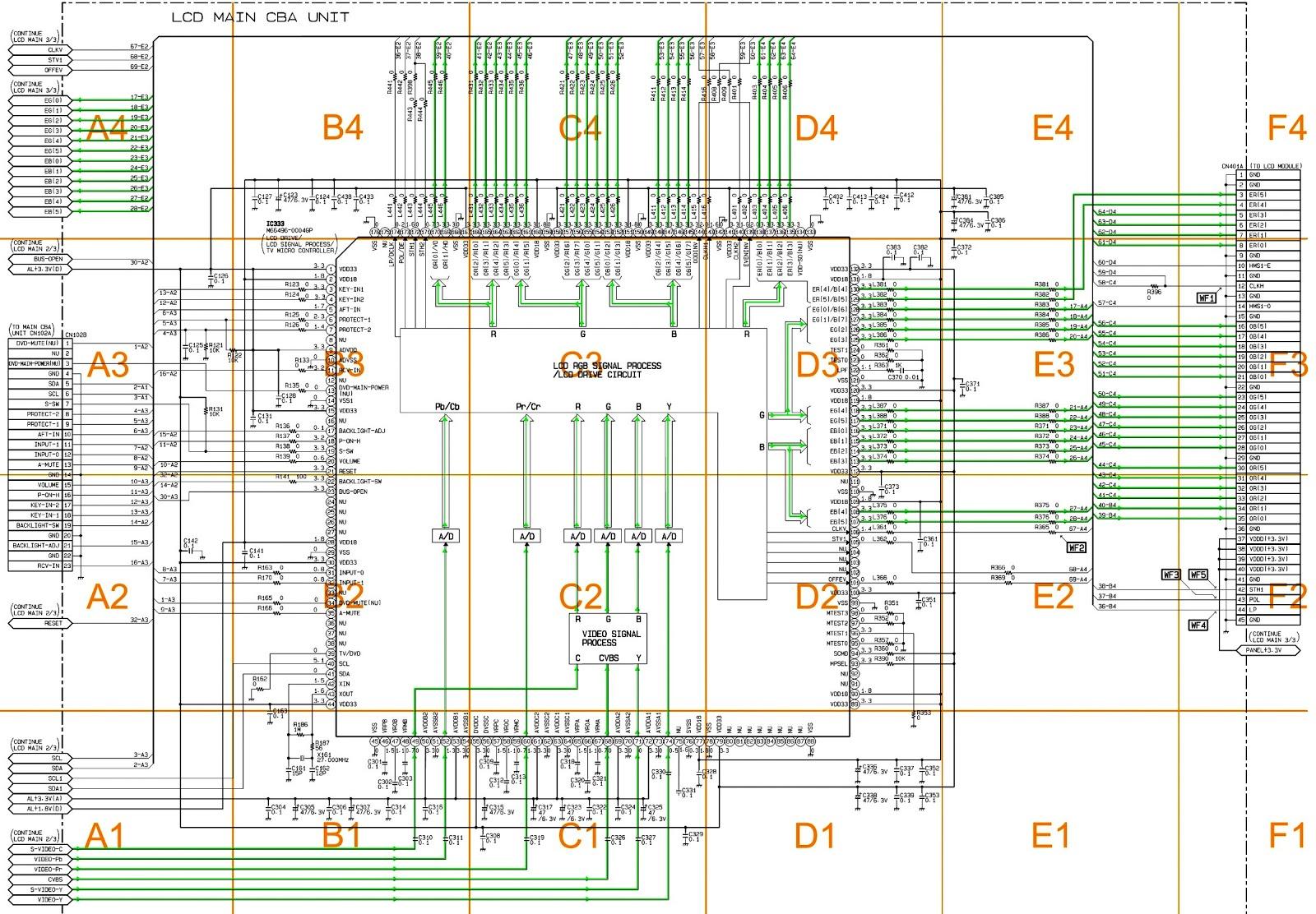 lg lcd tv circuit diagram lg image wiring diagram sylvania c6615le 15 inch color lcd television circuit diagram on lg lcd tv circuit diagram