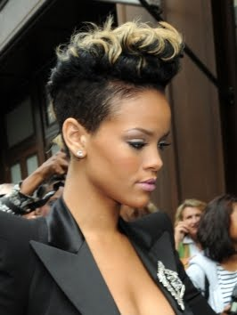Getting the Rihanna Mohawk Haircut