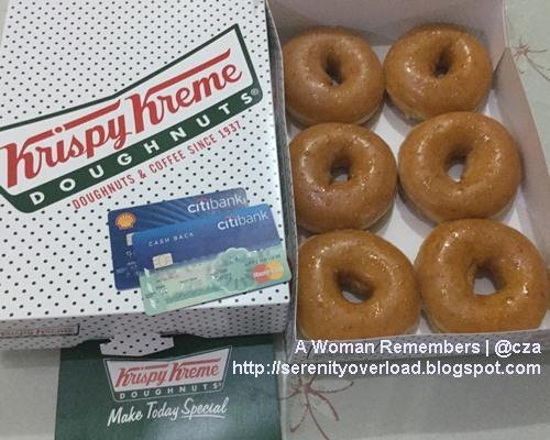 Krispy Kreme, Krispy Kreme Philippines, Citibank promo, Citibank credit card, Krispy Kreme doughnuts