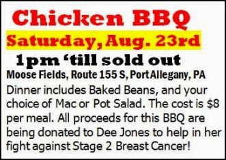 8-23 Chicken BBQ Benefit