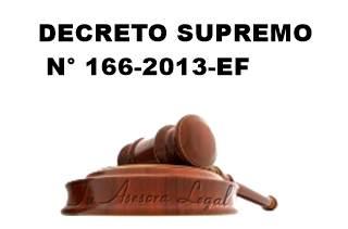 decreto supremo 166-2013