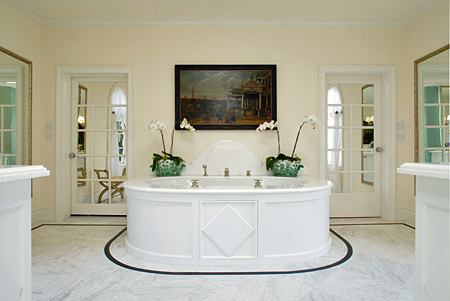 Bathrooms worth boasting about the enchanted home for Clive christian bathroom designs