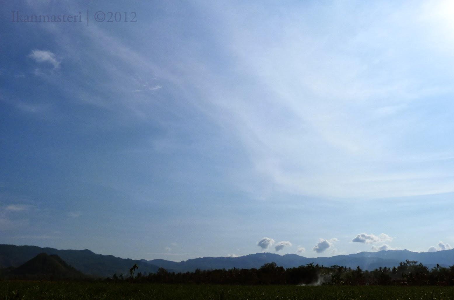 Langit atas Trenggalek