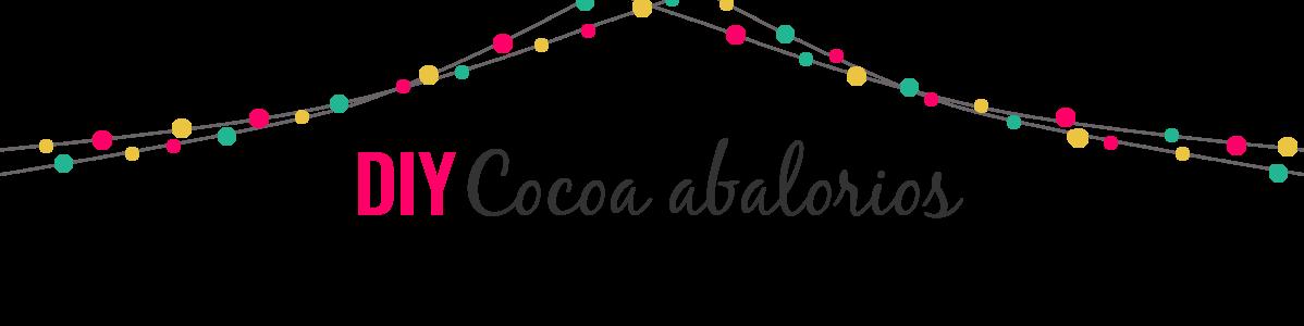 DIY Cocoa Abalorios