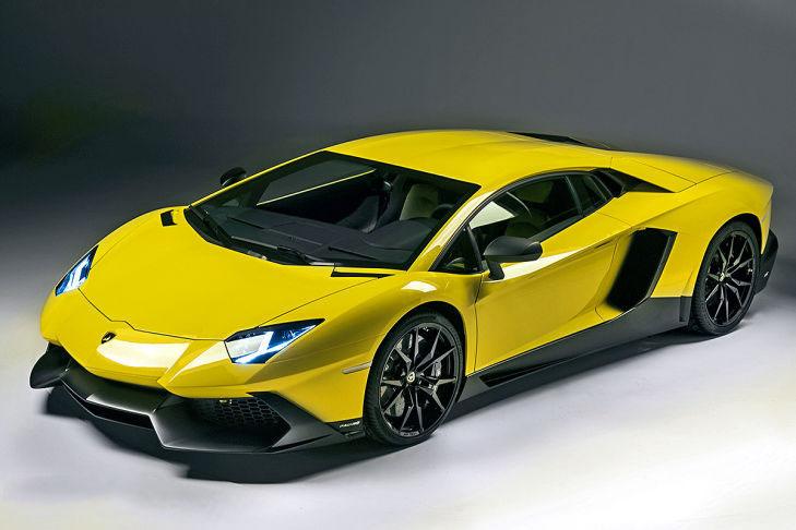 car i Lamborghini Aventador LP720-4 2014