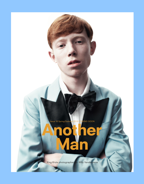 King Krule by Willy Vanderperre for Another Man Mag SS14