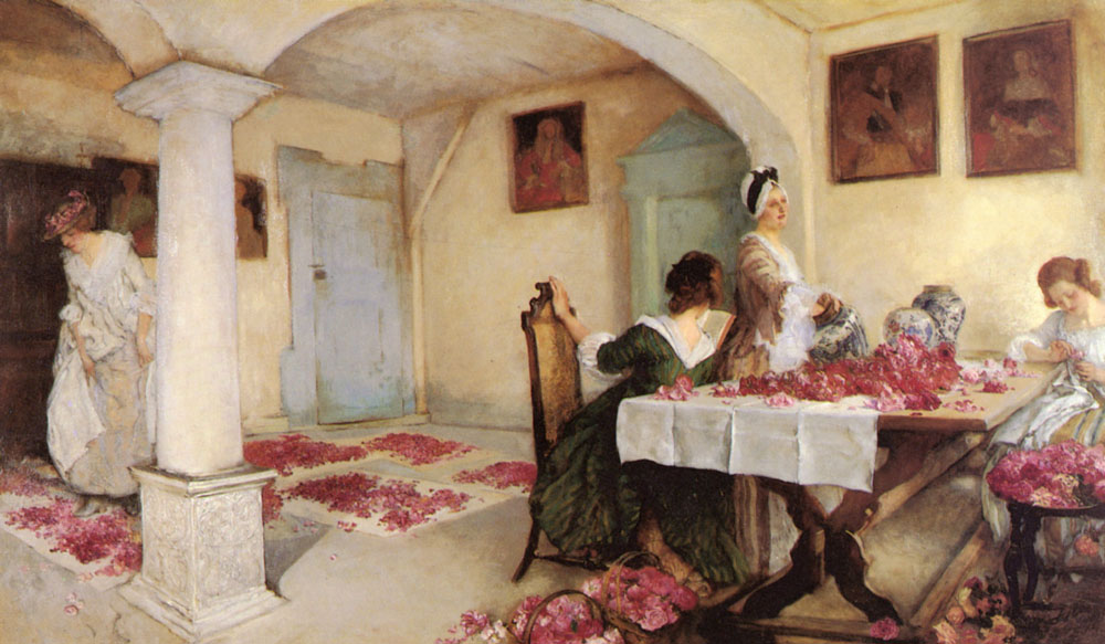 Edwin Austin Abbey pot pourri