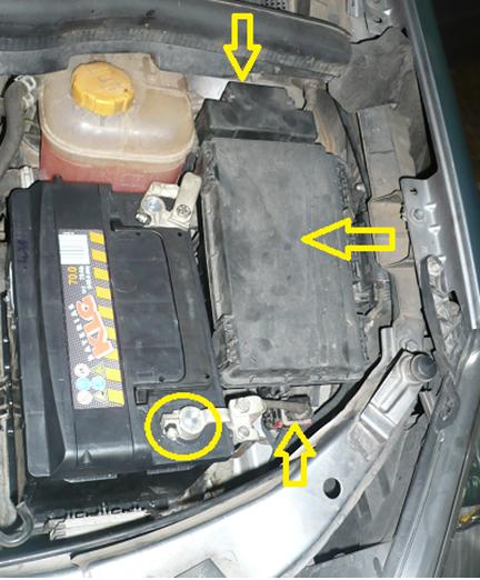 Opel Zafira avería maxi fusibles