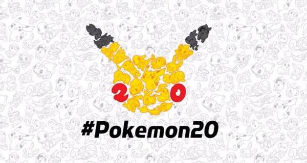 20 aniversario Pokémon