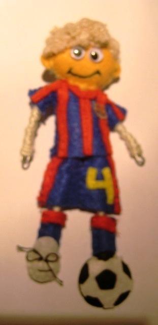 un futbolista del Barcelona