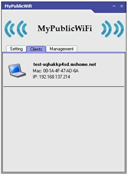 cài đặt MyPublicWiFi