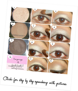 step by step eyemakeup tutorial with pictures