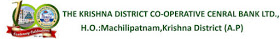 Krishna District Co-operative Central Bank Ltd. Recruitment 2015