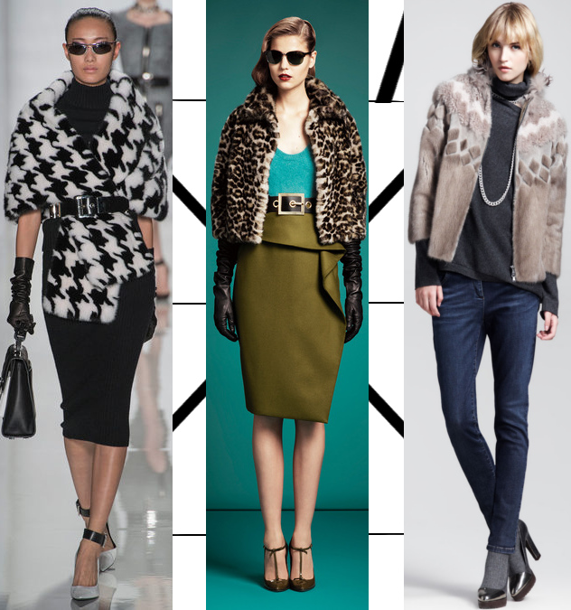 mink fur coats from michael kors, gucci