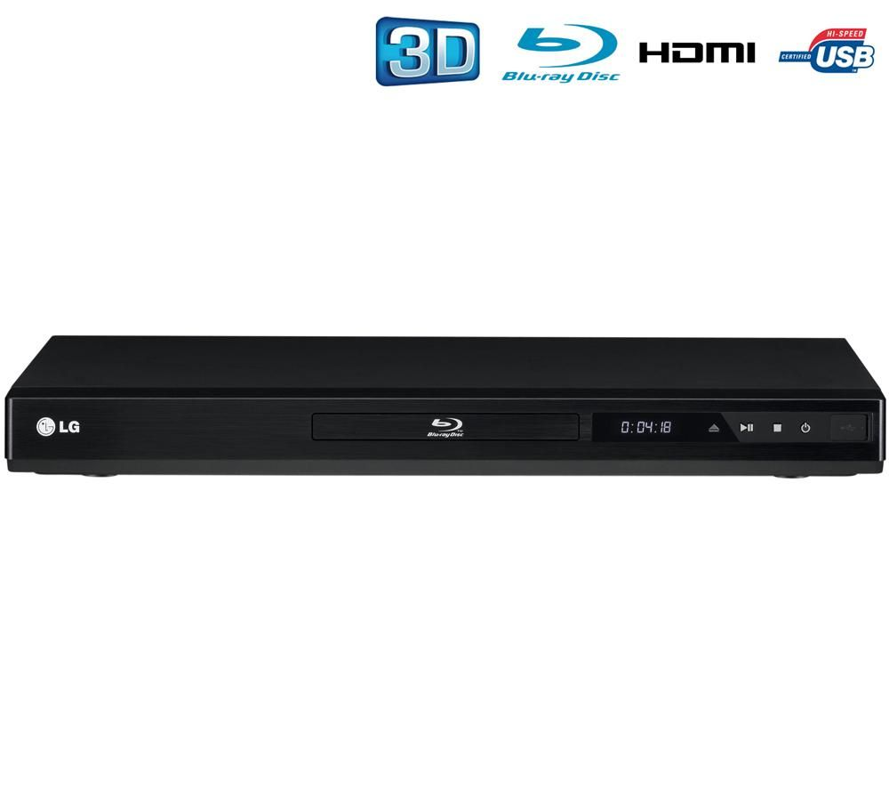 Lg bd660 the blu ray player 3d network