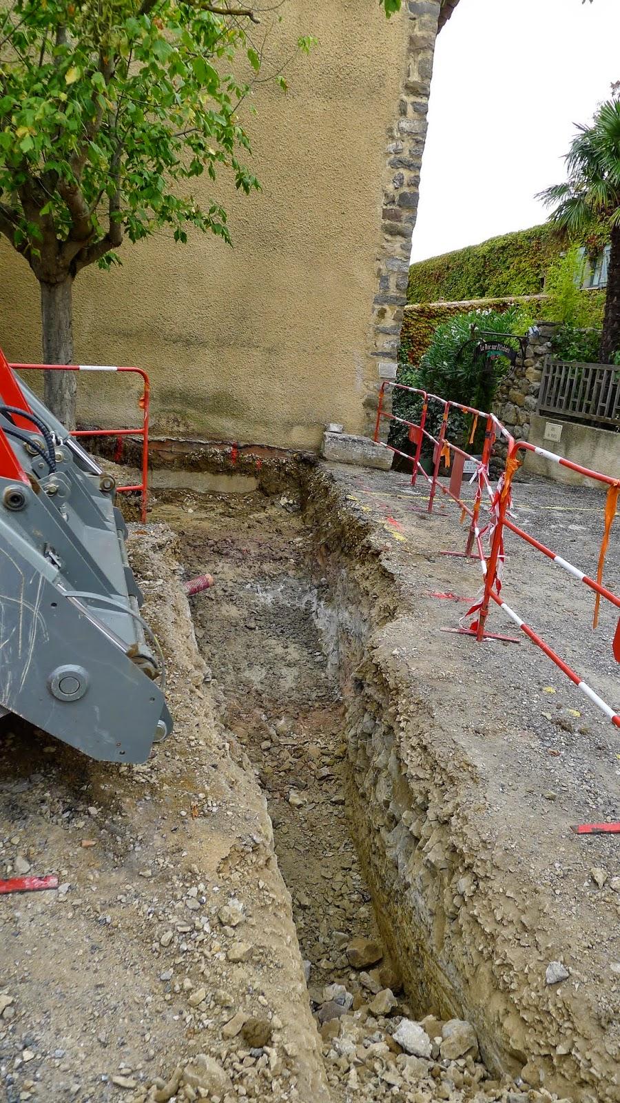 rue du Roc pose Transformateur EDF