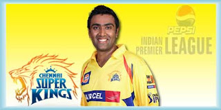IPL Chennai Super Kings R Ashwin Profile and Records