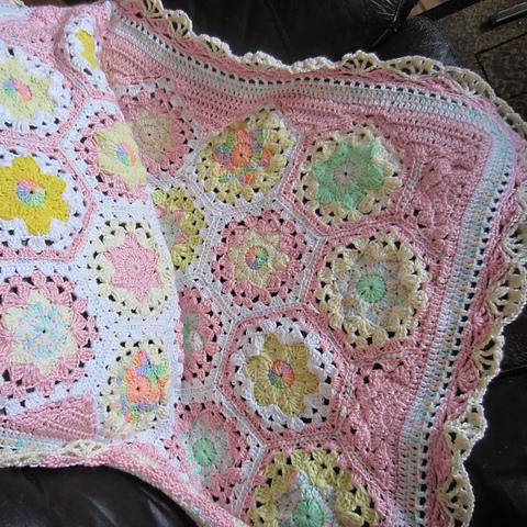 Elizabeth's Joy Baby Blanket