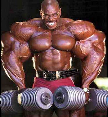 Ronnie Coleman weightlifting