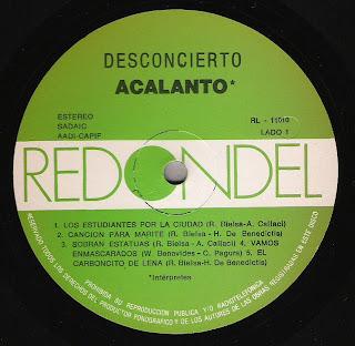 Acalanto: Desconcierto (1988)