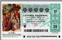 Lotería niño 6 enero 2016